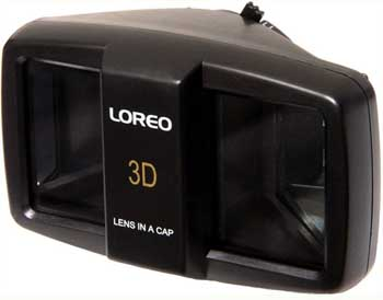 Loreo 3D Lens in a cap.  Look OK, but looks can be deceiving.