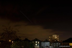 30 Second Exposure of the International Space Station