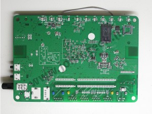 Front side of the HG630B board - Click to zoom