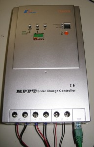 The EP Solar Tracer 40 Amp MPPT solar charge controller