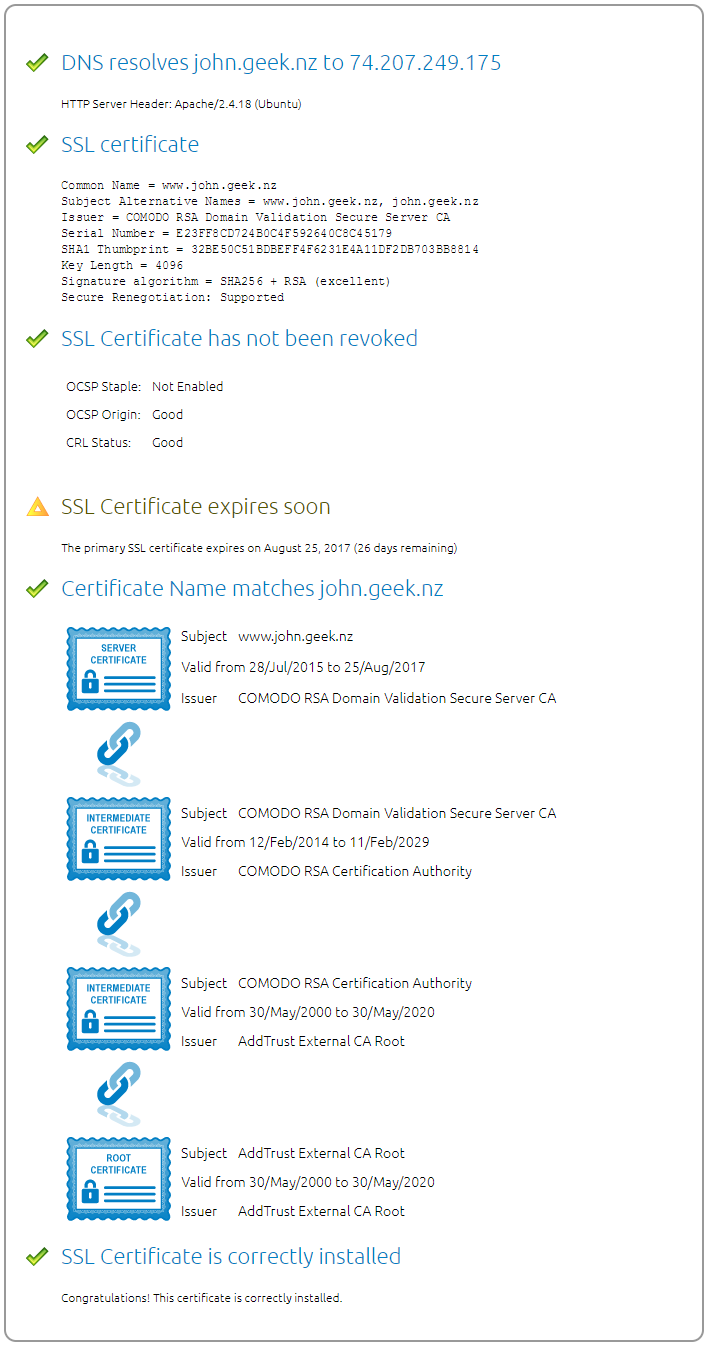 Setting up a ca ssl certificate in hmailserver johnek hmailserver requires you to provide all certificates in the certification chain for the image below this is the ssl cert two intermediate certificates xflitez Images